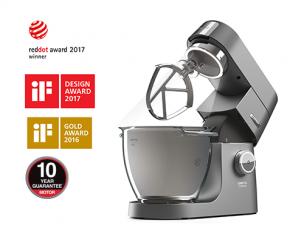 kenwood stand mixer kitchen machine titanium chef xl kvl8300s