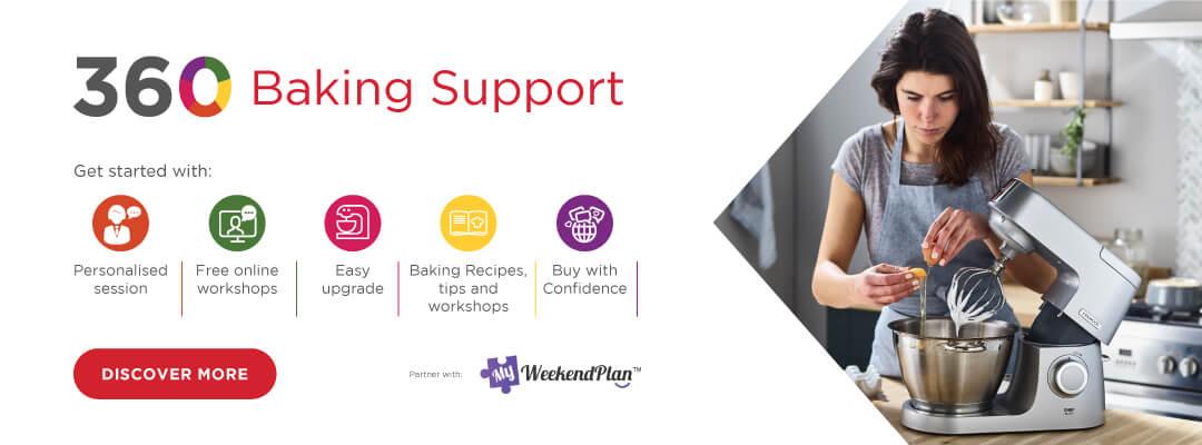 Kenwood 360 Baking Support