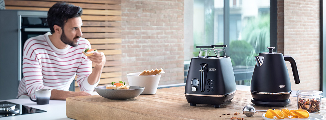 delonghi toaster category banner