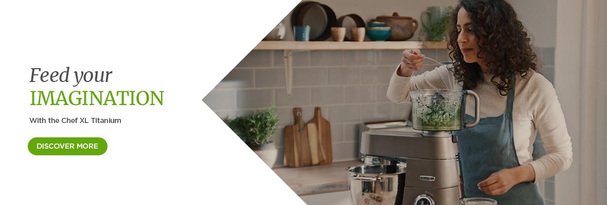 Chef XL Titanium homepage banner