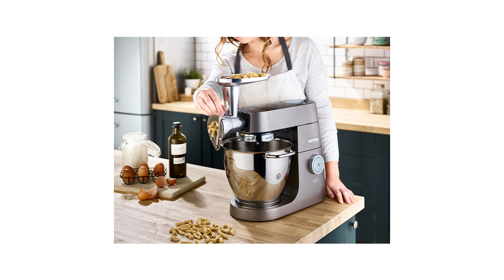 kenwood stand mixer attachment pasta shaper macaroni feature 3