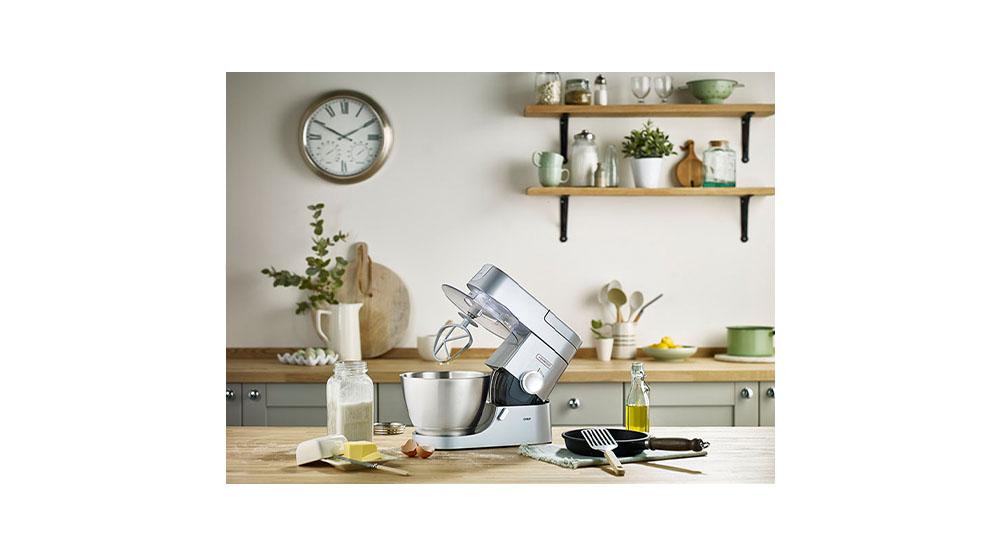 kitchen machine stand mixer chef xl 4.6L kvc3100s features 2