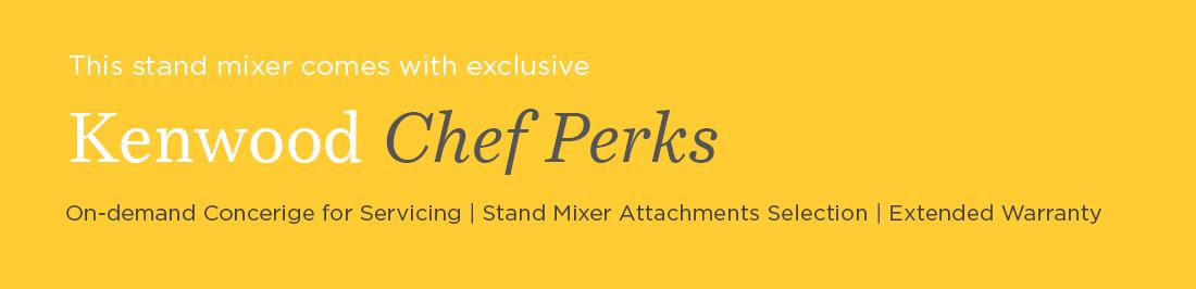 kenwood chef perks slim banner