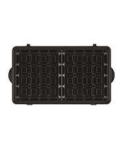 kenwood Toaster and Sandwich Maker 3-in-1 Waffle Sandwich Maker SMP84.C0WH what's in the box 1 Waffle plates